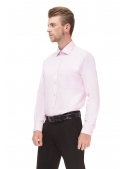 Classical cotton pink shirt