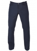 Trousers knitted blue