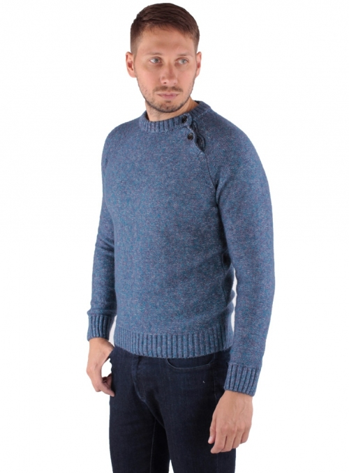 Sweater knitted