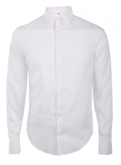 Everyday white shirt monochrome