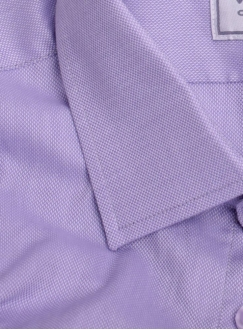 Classical cotton blue shirt