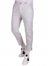White cotton trousers