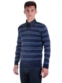 Men's sweater knitted beige