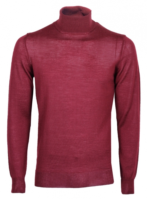 Golf men's knitted red