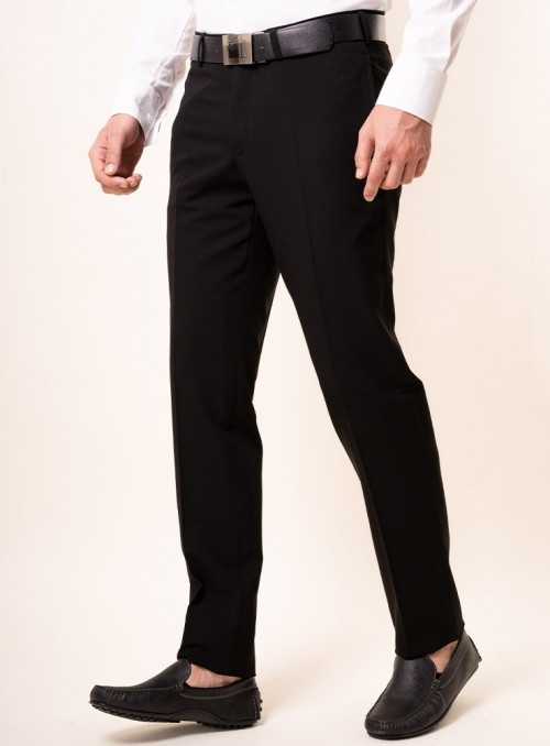 Men's black trousers