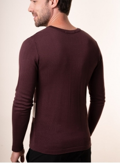 Men's brown jumper