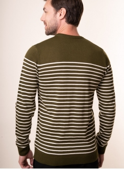 Men's khaki jumper