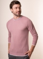 Men's salmon jumper