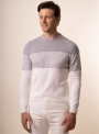 Men's grey jumper