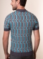 Men's multi-colored polo