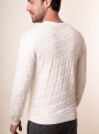 Men's ivory jumper