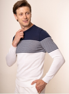 Men's navy jumper