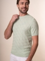 Men's mint t-shirt