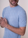 Men's light blue t-shirt