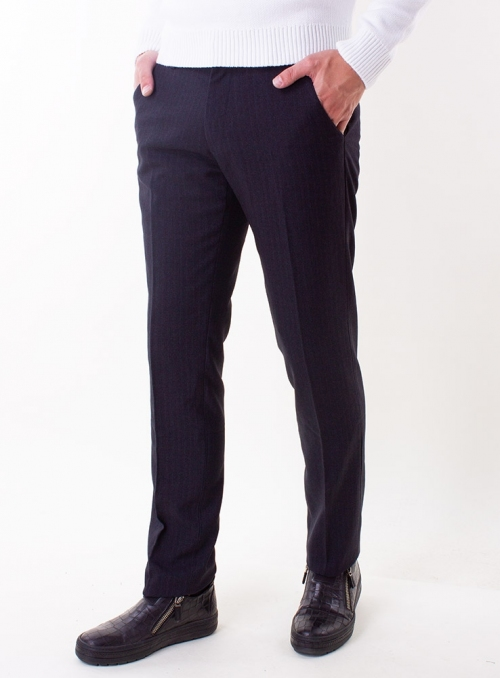Men's charcoal trousers