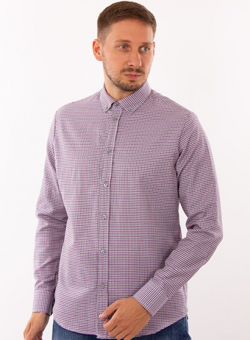 Casual Cotton Checked Shirt