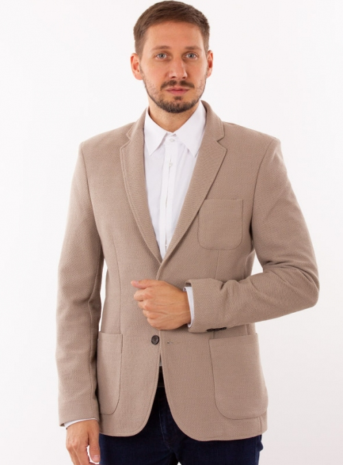 Men's beige jacket