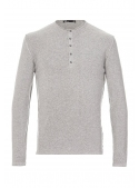 Sweater Knitted Cotton gray