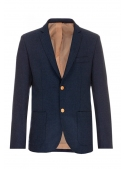 Jacket blue woolen