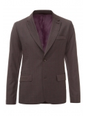Brown wool blend jacket