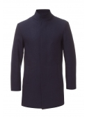 Male coat blue woolen